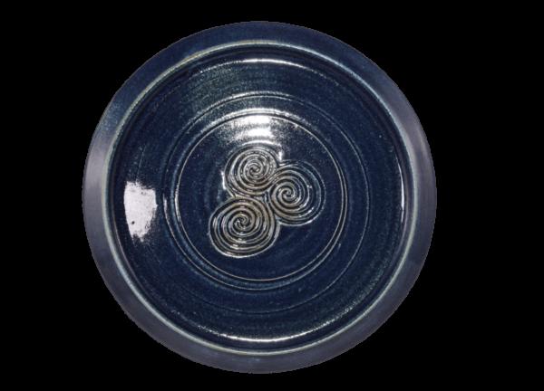 Cake : Dinner Plate - Blue