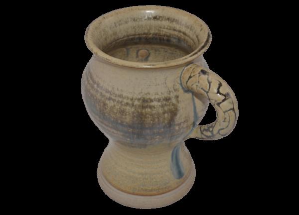 Irish coffee mug - yellow