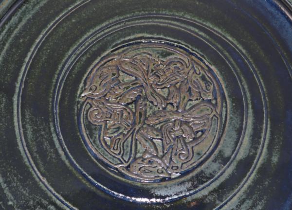 Platter - Green - Hounds of Cu Chulainn