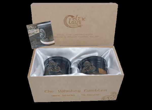 Whiskey Tumbler Box Set - Blue