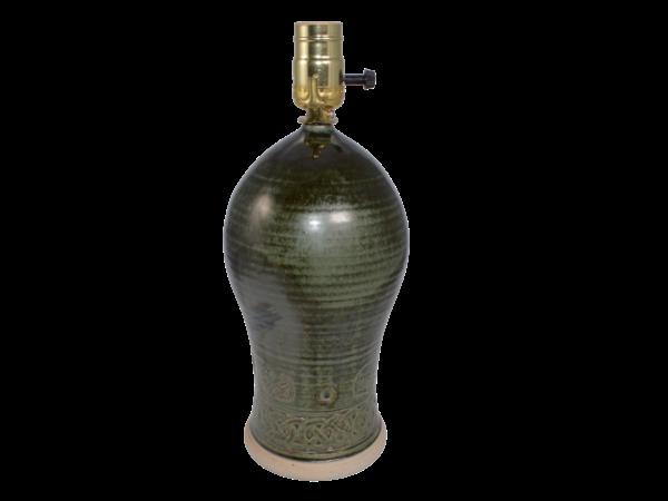 Lamp Base - Green