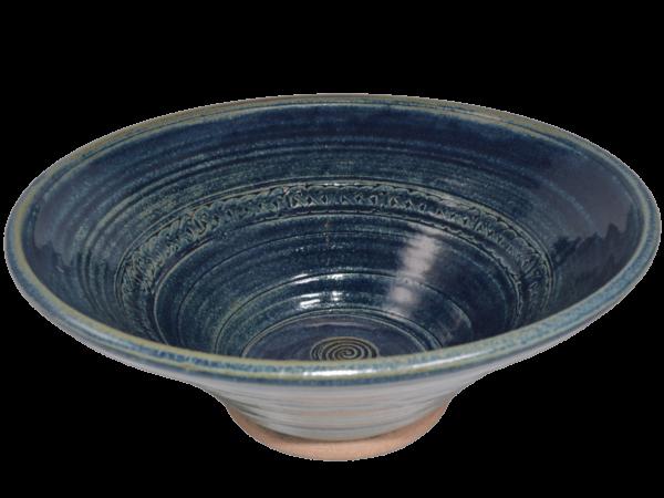 Newgrange Salad Bowl - Blue