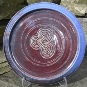 Purple (Newgrange) plate