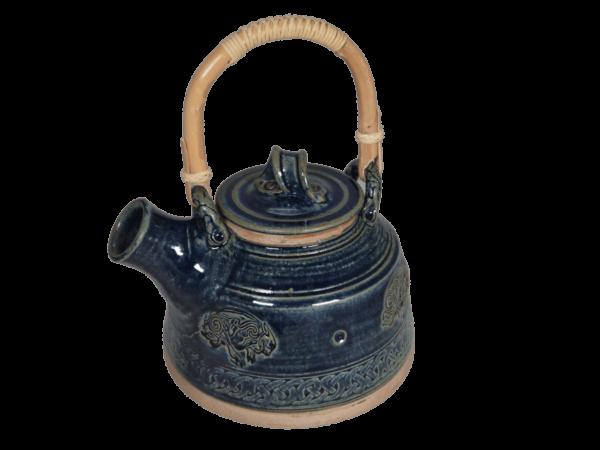 Tea Pot Blue