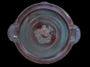 Personalised Irish Pottery Platter