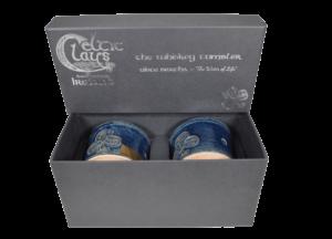 Blue Whiskey Tumbler Box Set